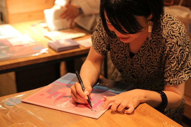 下北沢モナレコード。歌手常盤ゆうインストアイベント