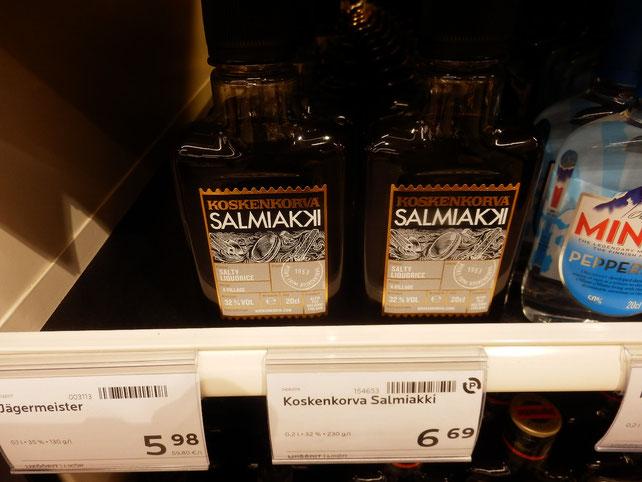 世界一くさいと評された飴で出来た酒。地元人イチオシのKOSKENKORVA salmiaki