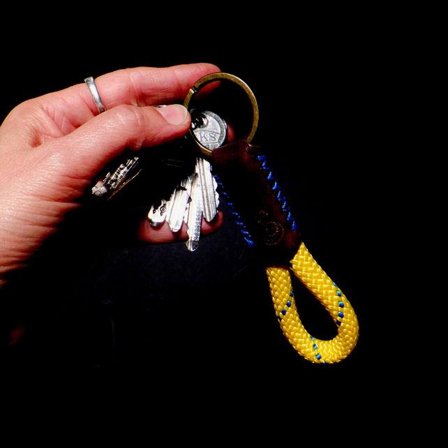 Schlüsselband Tampen | Kletterseil | Outdoorseil - eine Geschenkidee für Männer und Frauen
