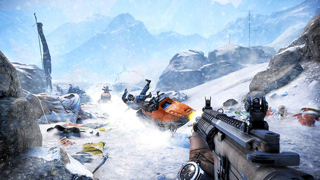 Shooter Xbox 360: Far Cry 4