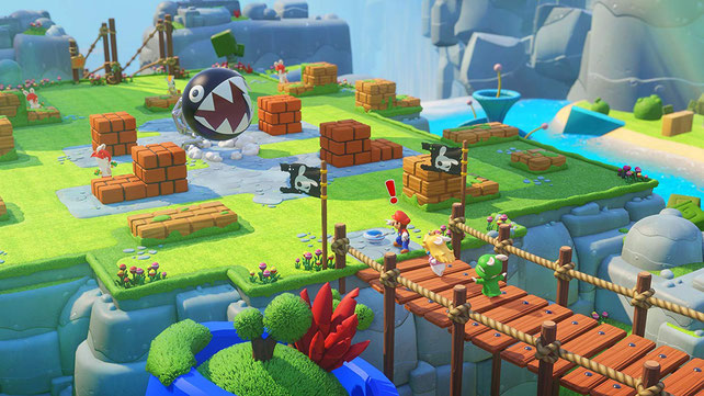 Beste Strategiespiele: Mario + Rabbids: Kingdom Battle