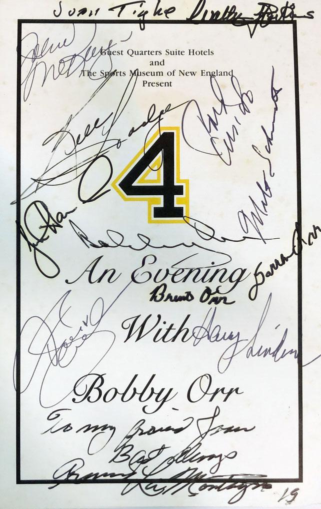 Autograph Bobby Orr Autogramm