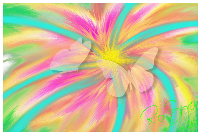 Spring Feelings, digital erstellt