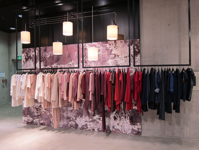 VM Hugo Boss Orange by Neonpony, Visuelles Merchanding, Shopflächen Betreuung, Showroom , Farbverlauf,
