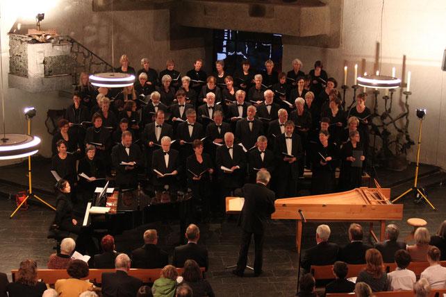 Bach-Chor-Bonn e.V. am 22.04.2012 in der Johanneskirche - Foto: KC Bonn