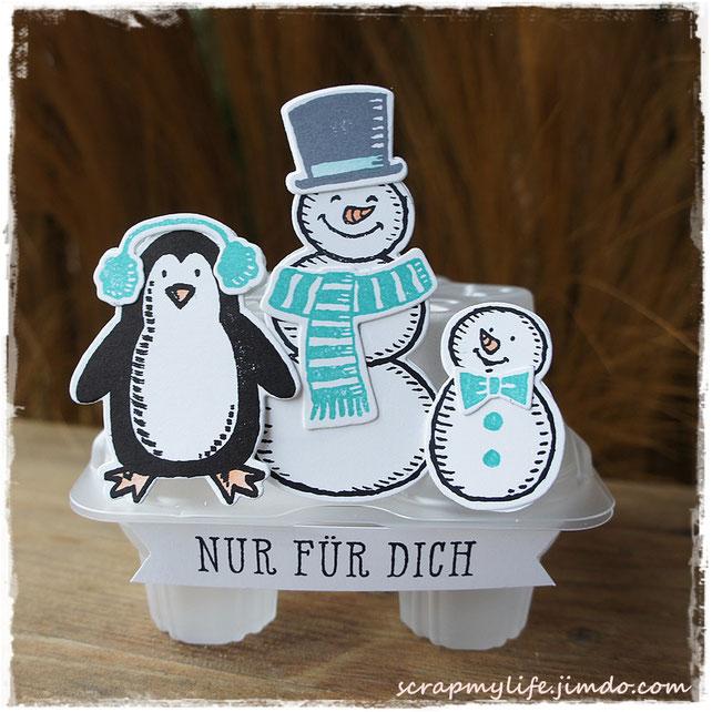 stampin up - Snow Friends - Es schneit! - Fenster zum Glück