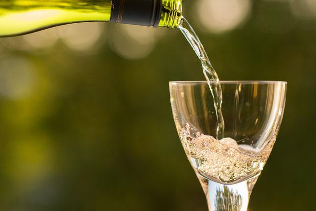 bollicina, caldo, summer. Etesiaca itinerari di vino. BLOG