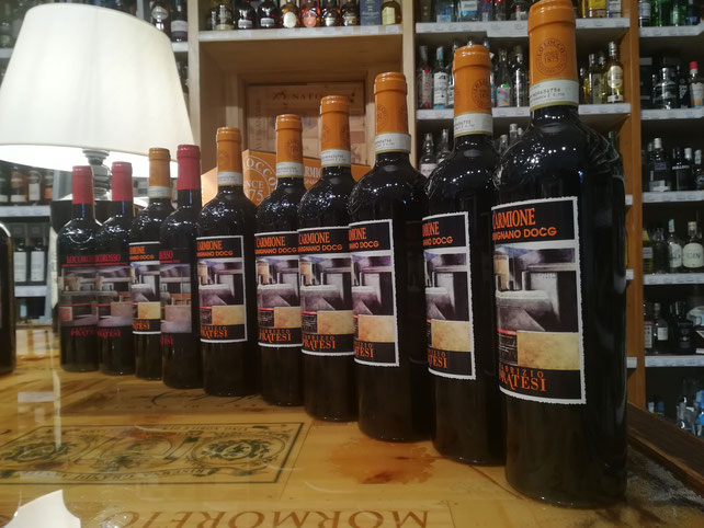 Carmignano Enoteca Alessi Etesiaca itinerari di vino