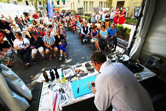 Festival des Saveurs Pyrénées Audoises - Chef étoilé Philippe Deschamps