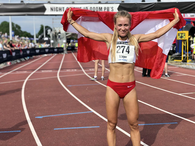Europacup London 10000m Jahresbestleistung Julia Mayer
