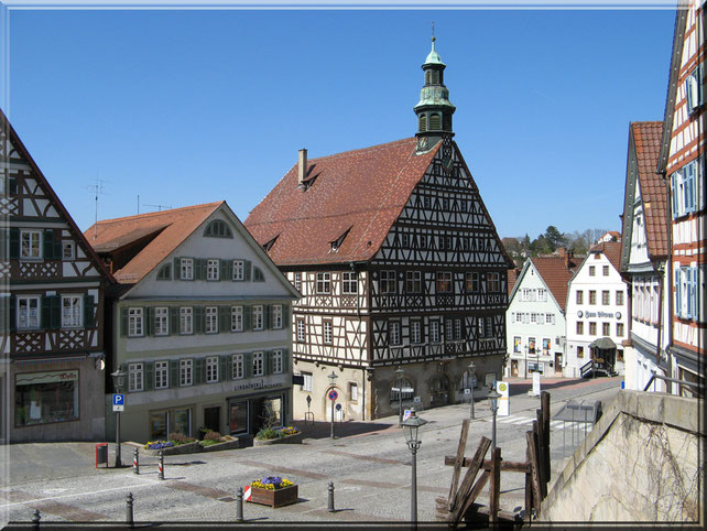 die Backnang Marktstraße