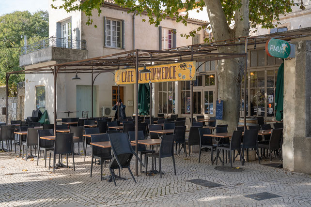 Bild: Cafe du Commerce in Boulbon