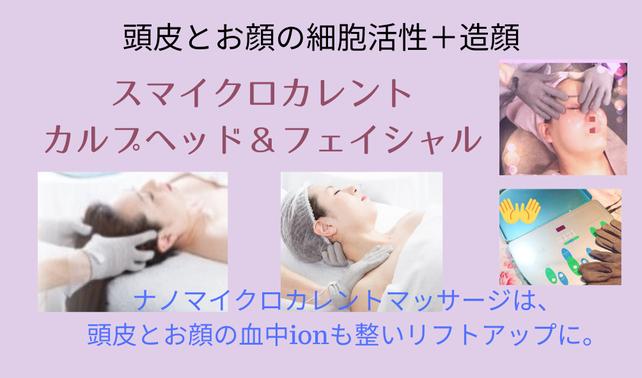 【男性OK】マイクロカレントヘッドフェイス