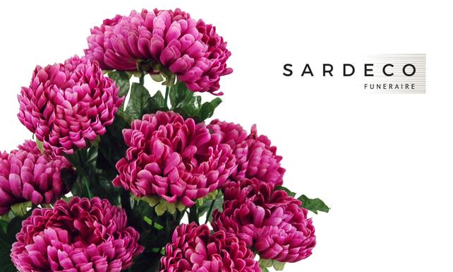 Sardeco, compositions florales artificielles