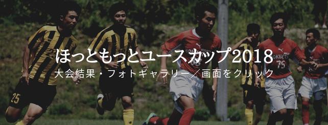ほっともっとユースカップ2018~御殿場 夏の陣~大会結果サイト