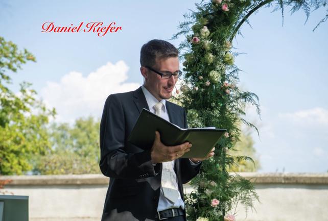 Daniel Kiefer: Mein Partner in Sachen Hochzeitsreden