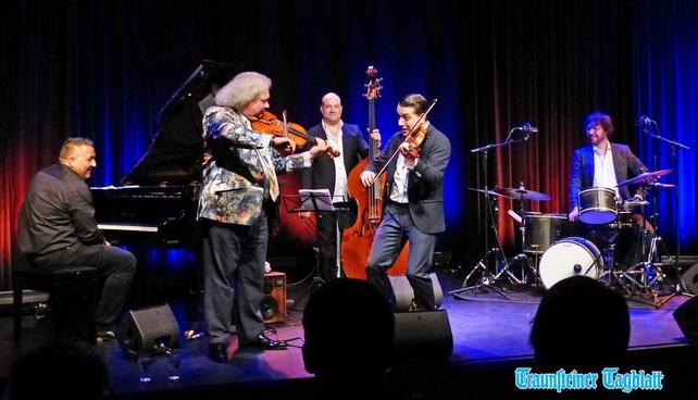 Concert with Jermaine Landsberger,Sandro Roy,Roby Lakatos,Obi Jenne 8.10.18 Traunreut