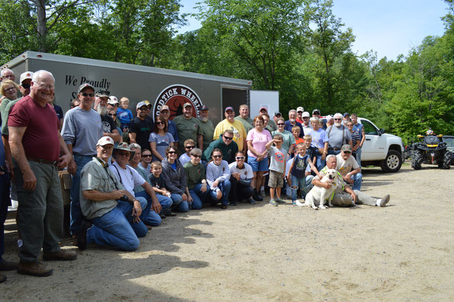 Half of our 350 members live in the area, including Hackensack, Longville, Remer, Backus and Walker. The other half live across Minnesota and Iowa, and have seasonal cabins in the area. It's a great group of people from all walks of life, from 8 to 80!
