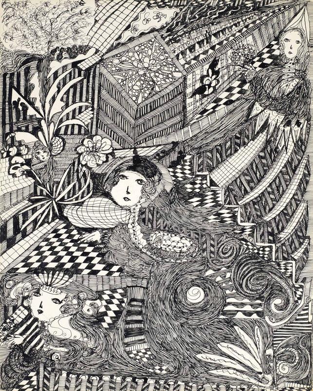《無題》,1950年代頃