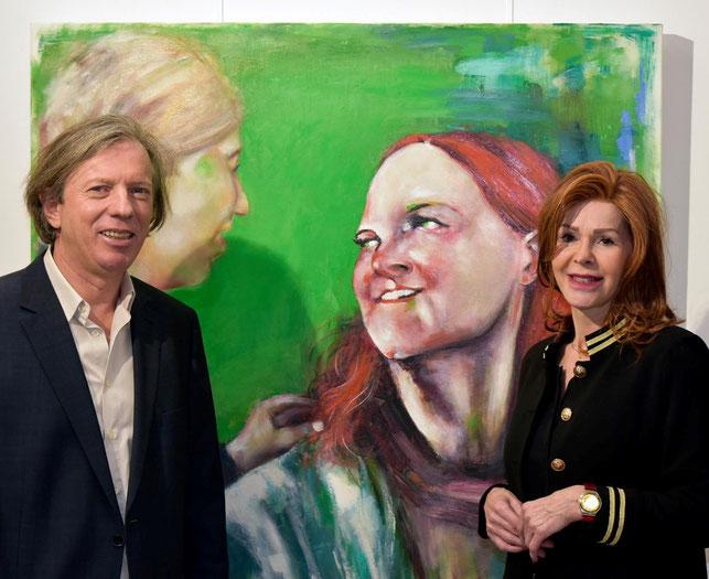 Gazmend Freitag, Johanna Penz, Galerie Artinnovation Innsbruck, 1.02.2019