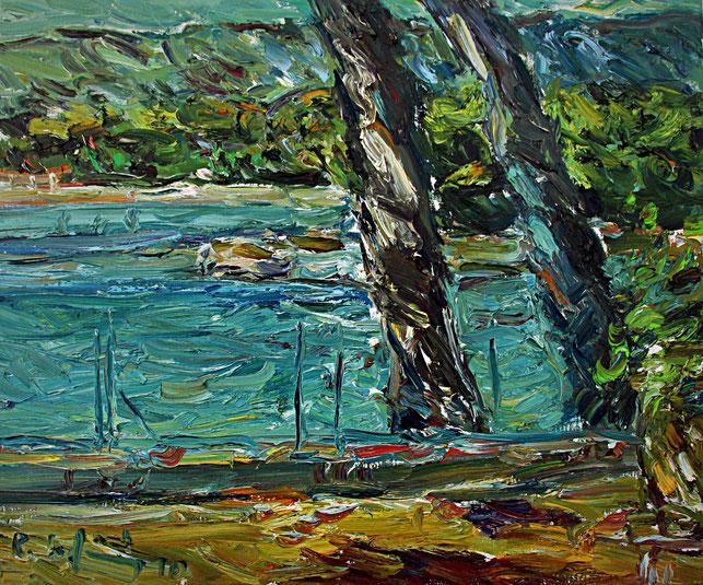 La Ciotat   2010, Öl auf LW, 46 cm x 55 cm