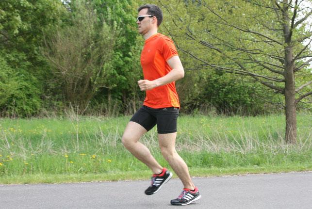 Bewegungsablauf beim Laufen