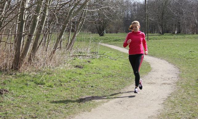 Frühlingsgefühle: Laufen im Frühling