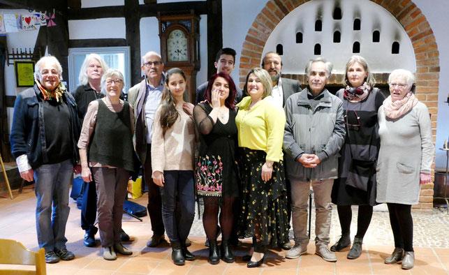 Die Organisatoren und Künstler der Interkulturellen Projektwoche Winsen bedanken sich bei den Besuchern und Unterstützern!
