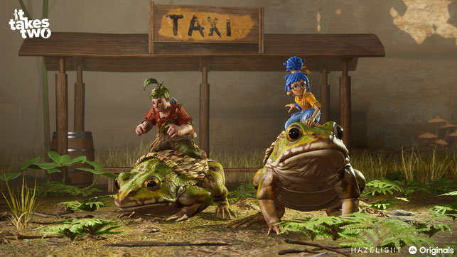 It Takes Two, Hazelight Studios, EA, Electronic Arts, Rosie, May, Cody, Puppen, Dr. Hakim, Josef Fares, Brothers, A Tale of Two Sons, A Way Out, Coop, Multiplayer, Freundespass, EA Originals, Ehe, Scheidung, Paarberatung