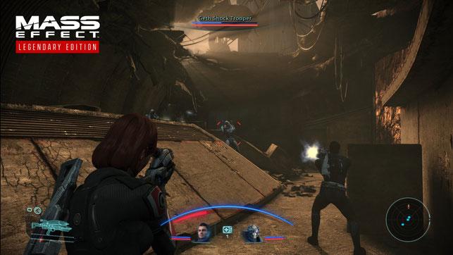 Screenshot aus dem ersten Teil der Mass Effect-Reihe im Zuge der Mass Effect Legendary Edition von Bioware