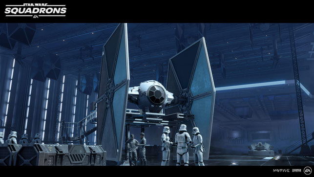 Star Wars, Squadrons, EA, Electronic Arts, Disney, Pilot, X-Wing, TIE, A-Wing, Y-Wing, TIE Fighter, Interceptor, Bomber, Cockpit, Imperium, Rebellen, Wedge, Titan Squad, Starhawk, Dogfight, Flotte, Todesstern, Endor, Lindon Javes, Terisa Kerill, Vanguard