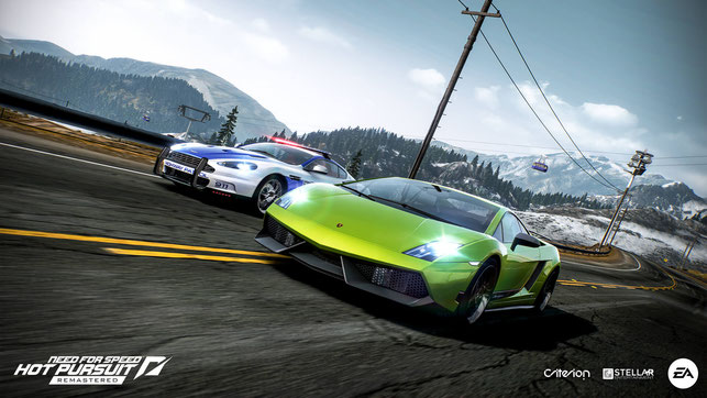 Need for Speed, Hot Pursuit, Remastered, EA, Electronic Arts, Xbox One, Playstation 4, PS4, Switch, Criterion Games, Stellar Entertainment, 2010, Xbox 360, PS3, Rennen, Polizei, Seacrest County, Autolog, Crossplay, Bounty, Auto, Racing, Race