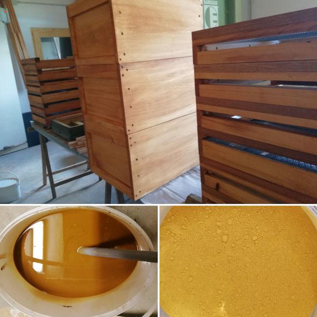 Öko-Bienenwohnungen