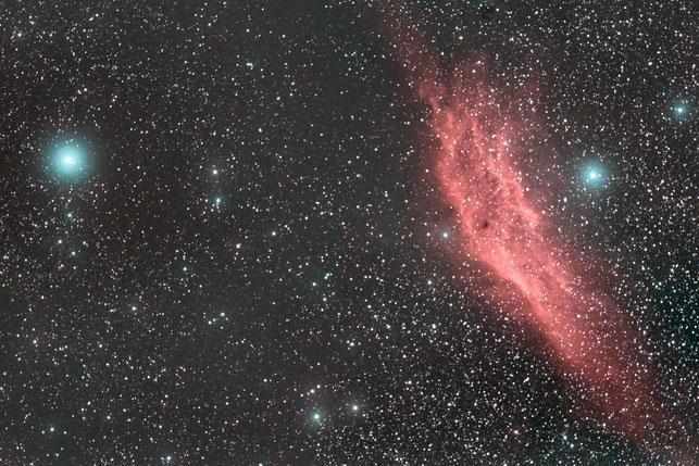 Kaliforniennebel NGC 1499 - Version 2 (Astro Pixel Processor + PS CC)