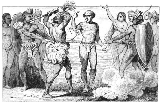 Symbolbild Opferungen bei den Maya und Azteken-Völker