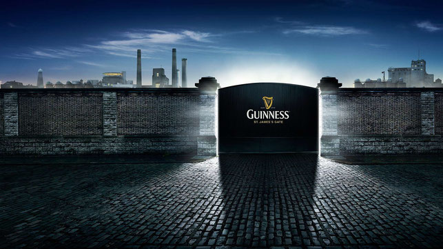 St. James Gate -Guinness Brauerei in Dublin
