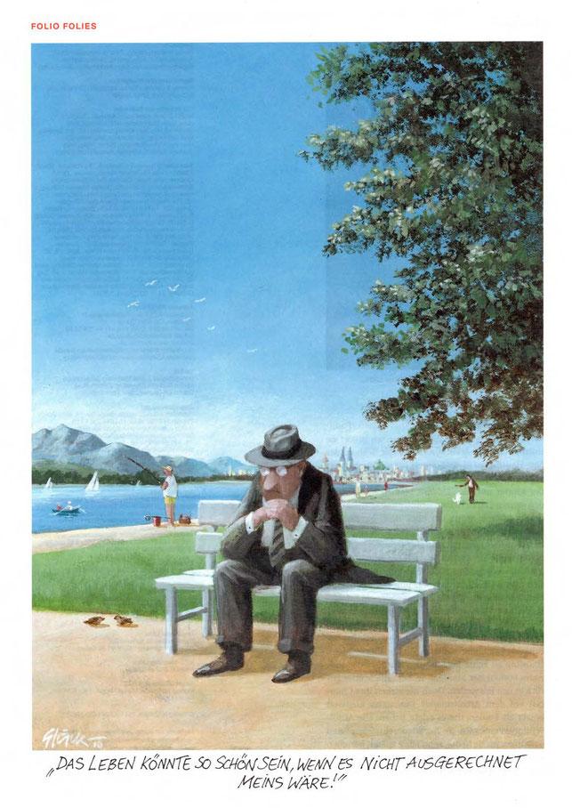 Autor: Gerhard Glück (*1944), Quelle: NZZ-Folio Januar 2011
