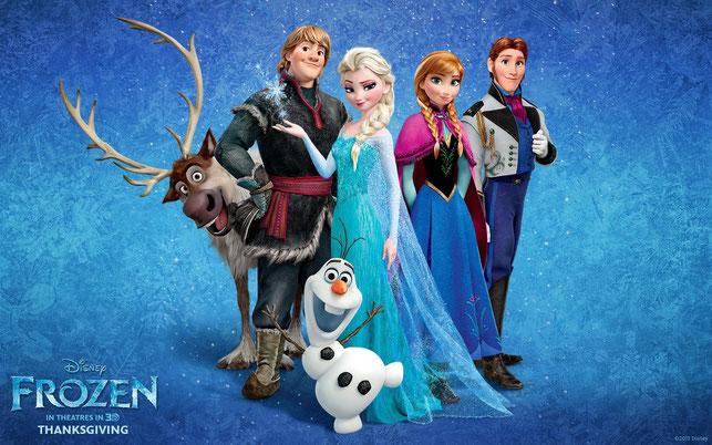 """""""Frozen"""", la película animada con mayor recaudación de la historia"""