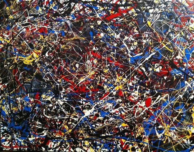 El Expresionismo abstracto de Jakcson Pollock.