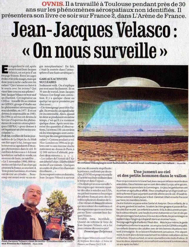 Jean Jacques Velasco e le sue conclusioni sulla natura degli UFO.