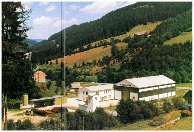 1970 Löblich Werk in Ratten, Stmk. (heute Horn GmbH)