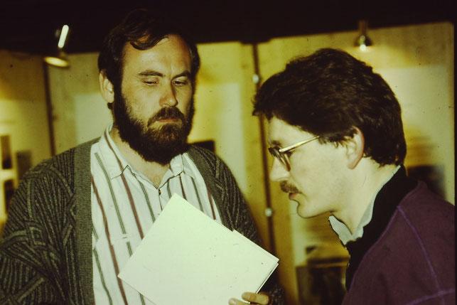 NABU Gründung 1984 R. Appl und Wilfried Schmid Foto NABU