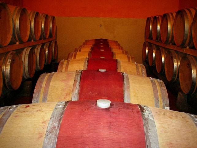 Etesiaca, itinerari di vino, Toscana