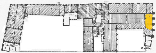 Lageplan Fürstensaal