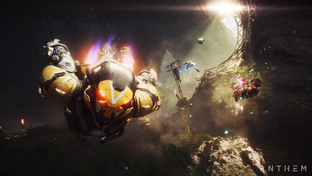 Anthem, EA, Electronic Arts, Bioware, Javelin, Loot Shooter, Ranger, Interceptor, Storm, Colossus, Freelancer, Shared World, Shaper, Hymne, Gestalter, Skar, Legion der Dämmerung, Legion of Dawn, Fort Tarsis, Stralheim, Antium