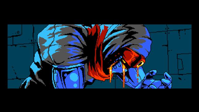Cyber Shadow, 8 Bit, Plattformer, Ninja, Yacht Club Games, Mechanical Head Studios, Mekacity, Dr. Pogen, L-Gion, Master, Shadow, Apparitor, Dash, Finnland, Finnisch, Cyborg, Aarne Hunziker, Roboter, Zukunft, Enrique Martin