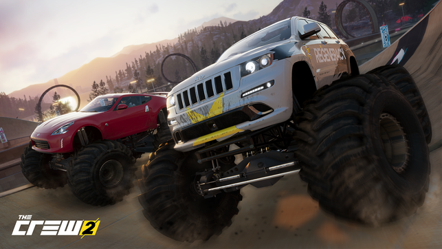 The Crew 2, Ubisoft, Ivory Tower, Ferrari, Audi, Dodge, Harley Davidson, USA, Rallye, Pro-Racing, Drift, Streetrace, Mercedes, Red Bull, KTM, Flugzeug, Boot, Motorrad, Offroad, Live Extreme, Fast Fav,