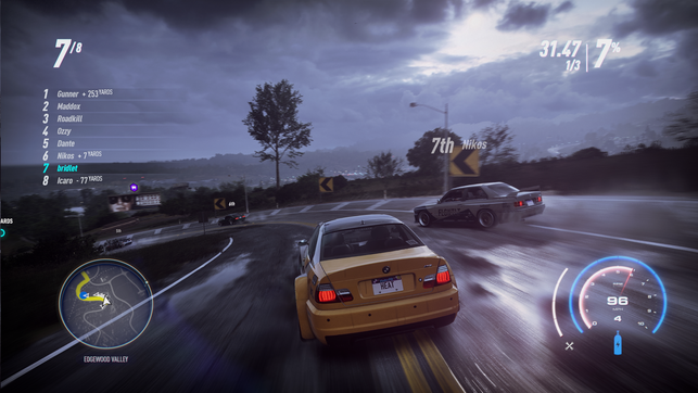 Need for Speed, Heat, Ghost Games, EA, Electronic Arts, Palm City, Miami, Florida, Rep, Reputation, Polizei, Fahndung, Rennen, Auto, Adidas, Ruf, BMW, Ford, Audi, Lamborghini, Honda, Porsche, VW, Nissan, Honda, Jaguar, Open World, illegal, Frank Mercer