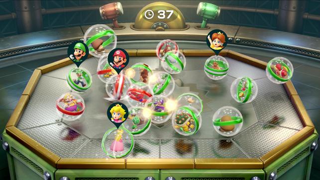 Mario Party, Switch, Super Mario Party, Joycon, Brettspiel, Minigames, Luigi, Bowser, Items, Waluigi, Peach, Yoshi, Würfel, Stern, Multiplayer, Partygames, Rosalina, Shy Guy, Gumba, Koopa, Bowser Jr., Nintendo