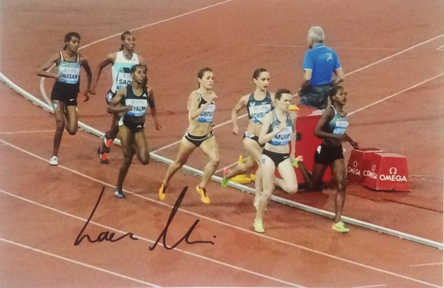 Autogramm Laura Muir Autograph